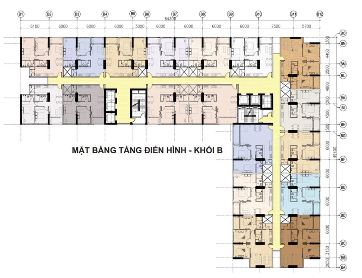 Mat bang can ho asahi tower -7